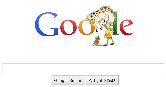 Pippi Langstrumpf Doodle