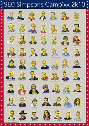 Simpsons-Poster der deutschen Seos