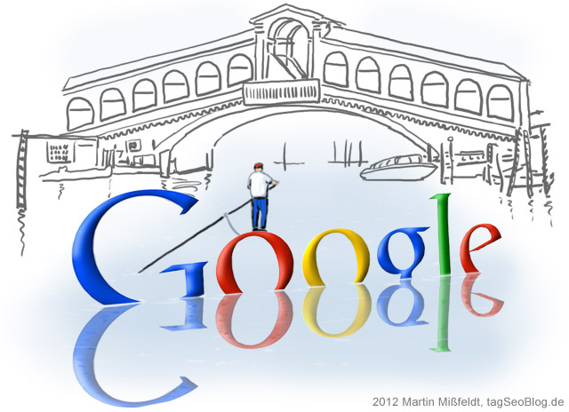 Google Venice Update Doodle