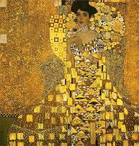 Adele Bloch Bauer (Gustav Klimt 1907)