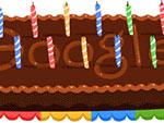 Google Doodle zum 14. Google-Geburtstag