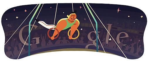 Geräteturnen Ringe (Männer) - Olympia Doodle