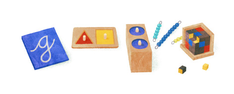 Mario Montessori Doodle