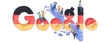 Tag der Deutschen Einheit 2012 Google Doodle