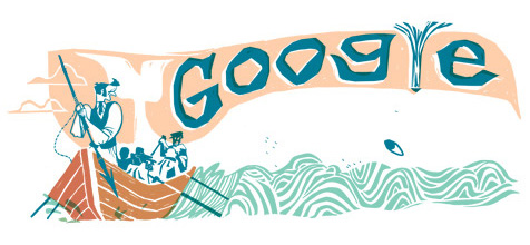 Herman Melville Google Doodle: 161 Jahre Moby Dick
