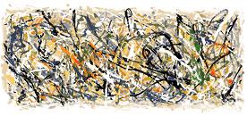 Jackson Pollock Doodle (28. Januar 2009)