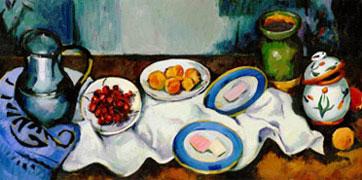 Paul Cezanne Doodle (19. Januar 2011)