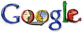 Pablo Picasso Doodle (25. Oktober 2002)