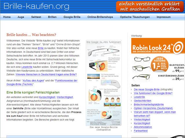 Brille-kaufen.org Startseite