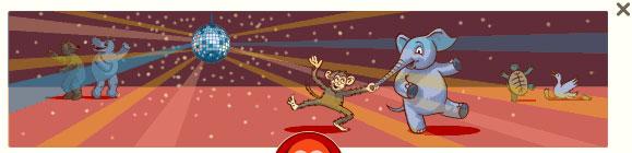Affe und Elefant (George Ferris Doodle)
