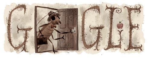 Franz Kafka Google Doodle (3. Juli 2013)