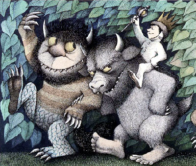 Illustration aus dem Sendak-Kinderbuch