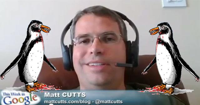 Matt Cutts verkündet das Pinguin 2.0 Update