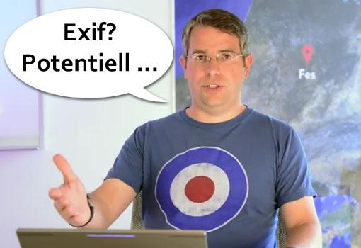 Matt Cutts über Exif Daten als Rankingfaktor ...