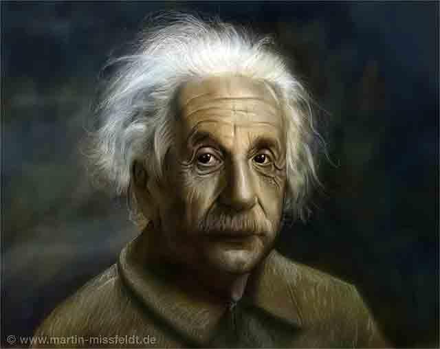 Albert Einstein - krank komprimiert (12 kb)