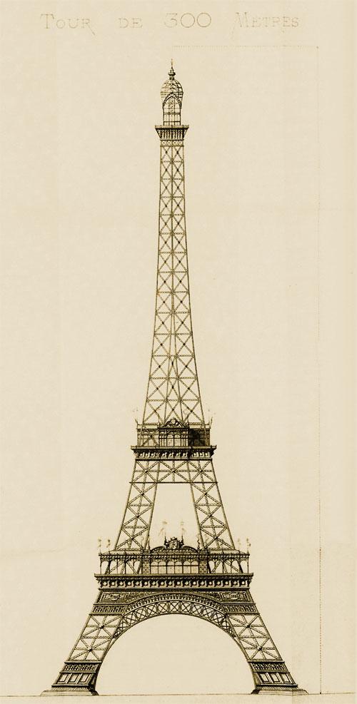 Der Eiffelturm - wahrlich ein beeindruckendes Monument
