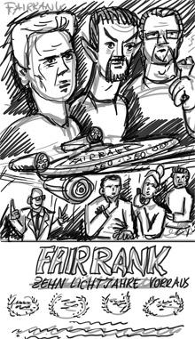 Fairrank Seo-Poster Kompositionsskizze