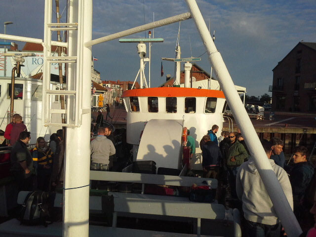 Hochseeangeln: Schiff voller Online-Experten