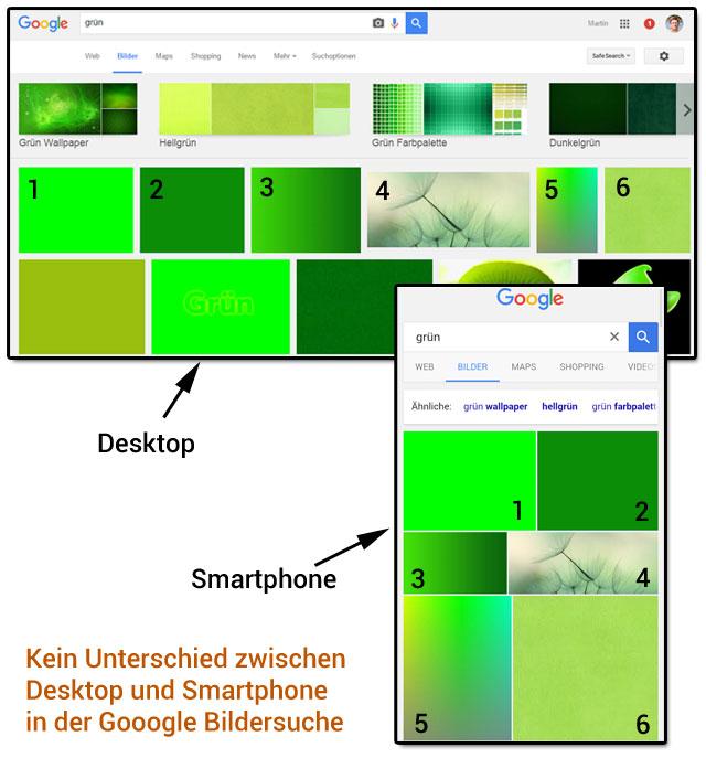 Google Bildersuche (Beispiel