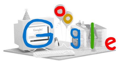Google Doodle konkretisiert die Logo-Buchstaben