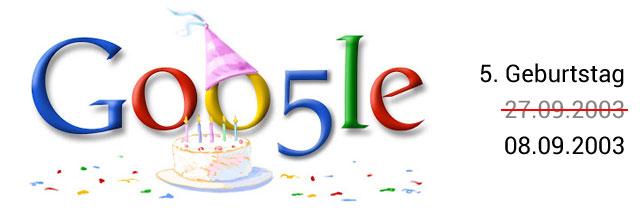 Google Geburtstag Doodle 05