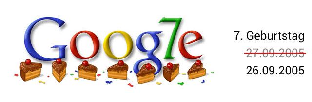 Google Geburtstag Doodle 07