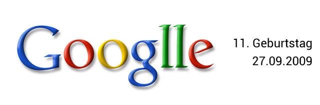 Google Geburtstag Doodle 11