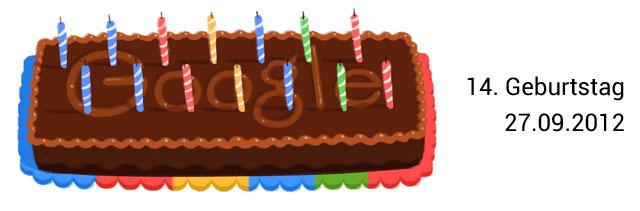 Google Geburtstag Doodle 14