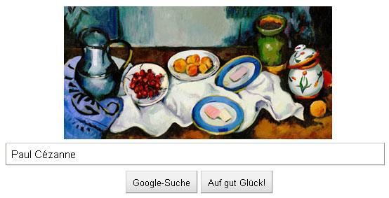 Paul Cezanne Google Doodle