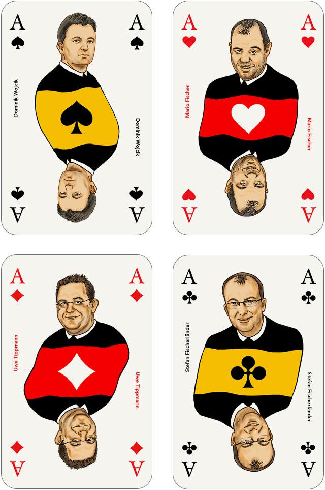 Seo-Kartenspiel: Asse