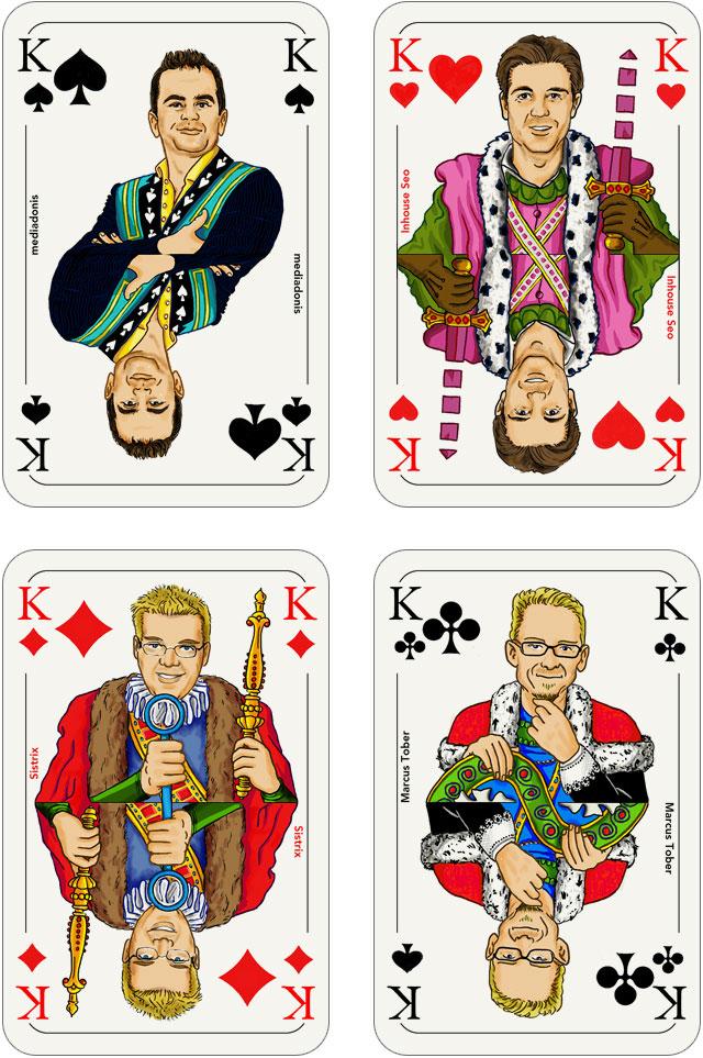 Seo-Kartenspiel: Könige
