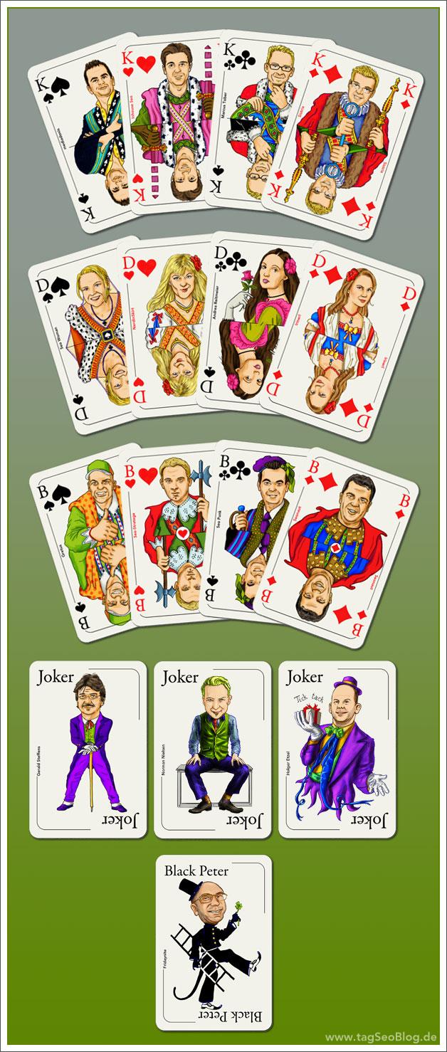 Seo-Spielkartenset