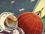 Juri Gagarin Doodle