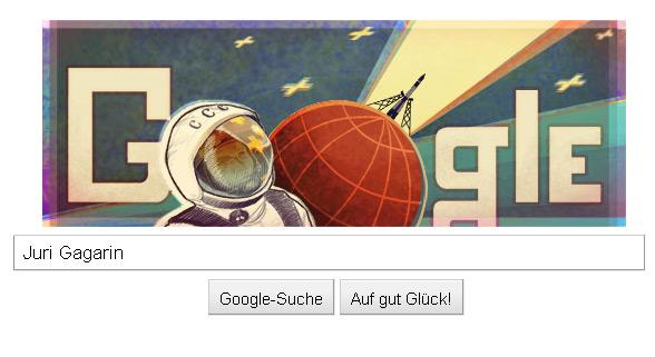 Juri Gagarin: Erster Kosmonaut im Weltall (50. Jahrestag)
