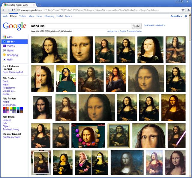 Neue Google Bildersuche nun auch in Deutschland