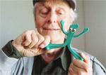 Art Clokey knetet Gumby