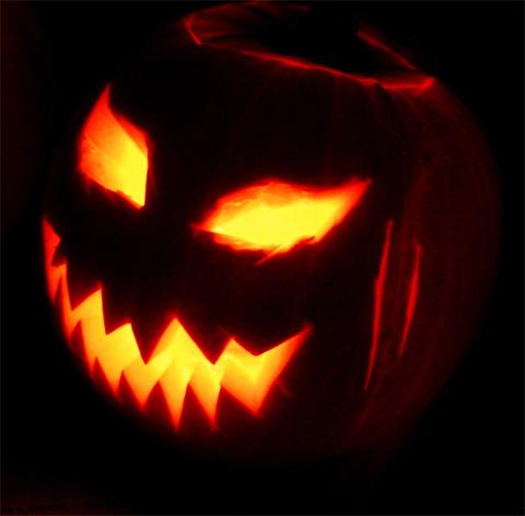 Jack O'Lantern Halloween-Kürbis