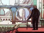 Jorge Luis Borges Doodle