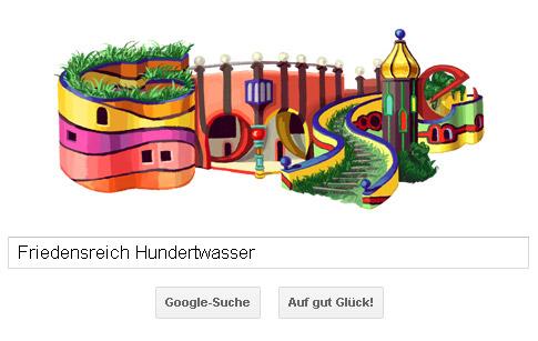 Friedensreich Hundertwasser Doodle