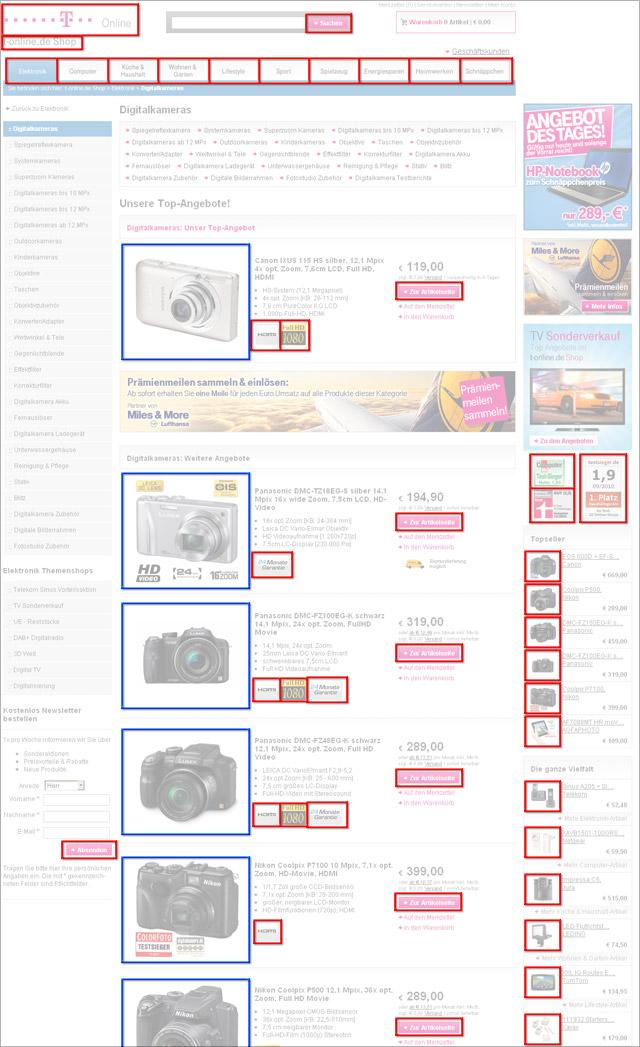 Http-Requests am Beispiel des Telekom-Onlineshops