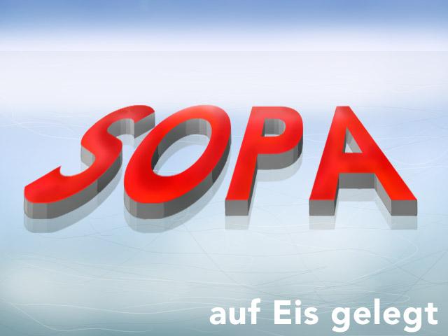 SOPA auf Eis gelegt