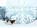 World largest snowflake Doodle