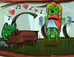 Gioachino Rossini Frosch Doodle