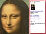 Google Bildersuche Frame rechts
