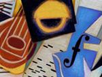 Juan Gris - kubistisches Doodle