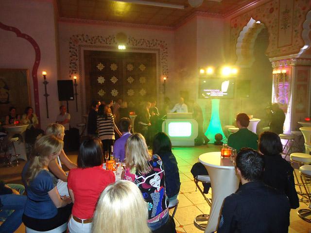 Karaoke bei der Pubcon-Party