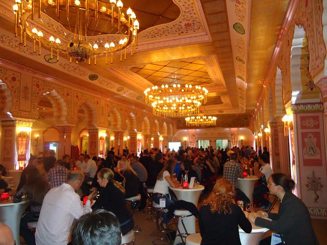 Indischer Prunksaal - Location der Pubcon 2011