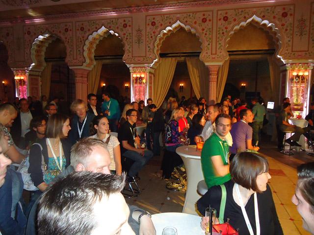 Pubcon-Publikum in Feierlaune :-)