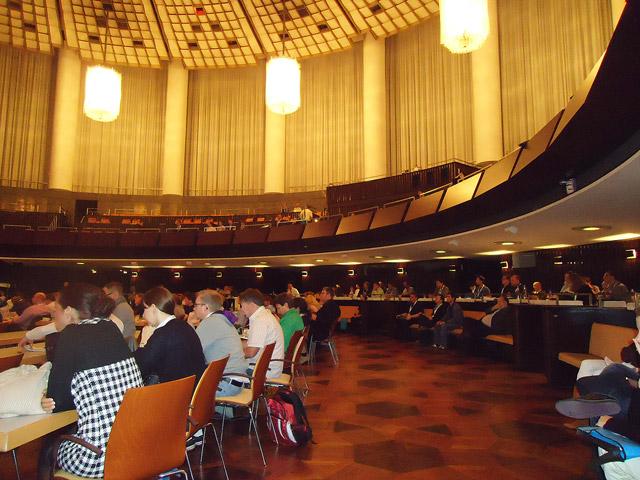 HCC : großer Saal mit Empore