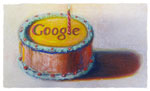 Google Geburtstagsdoodle
